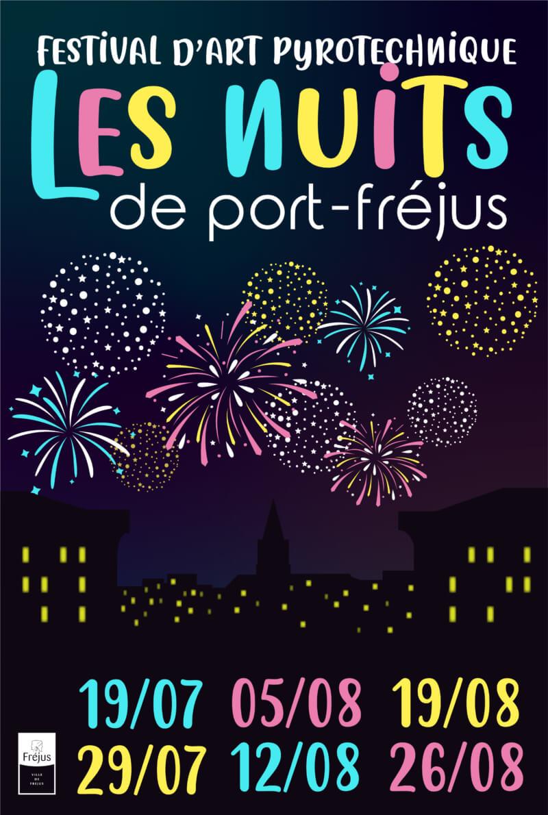 """Les nuits de Port Fréjus """"Feux d'artifices"""""""