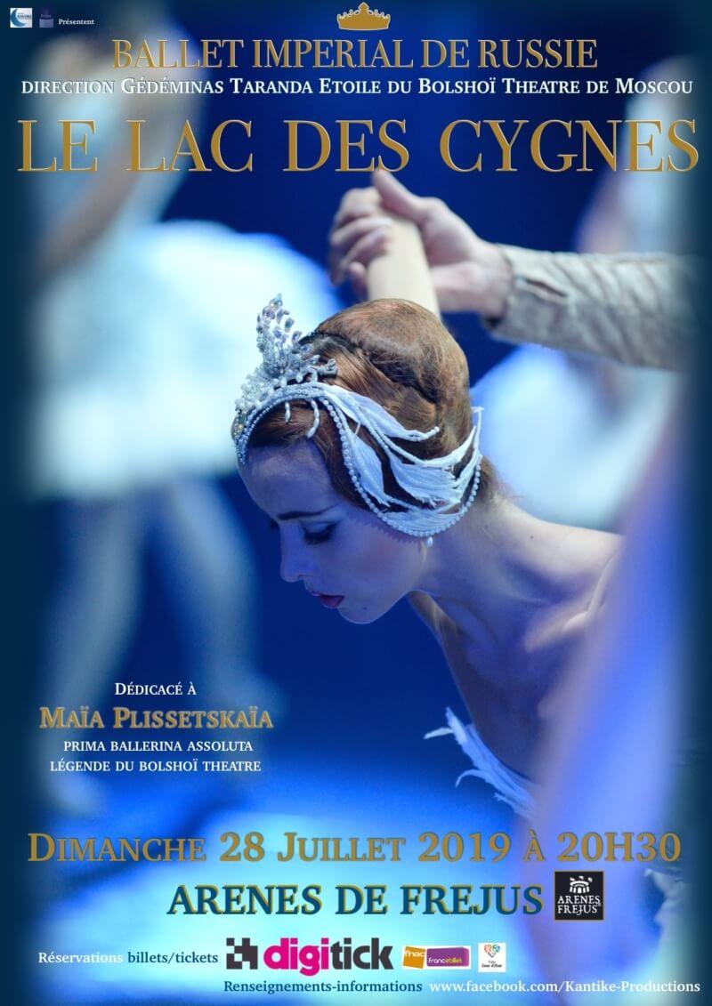 """Les Nuits 2 Fréjus """"Le lac des Cygnes"""""""