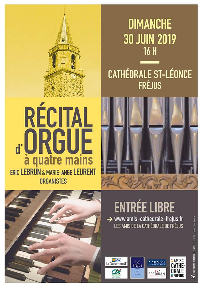 Récital d'orgue Eric Lebrun & Marie Ange Leurent