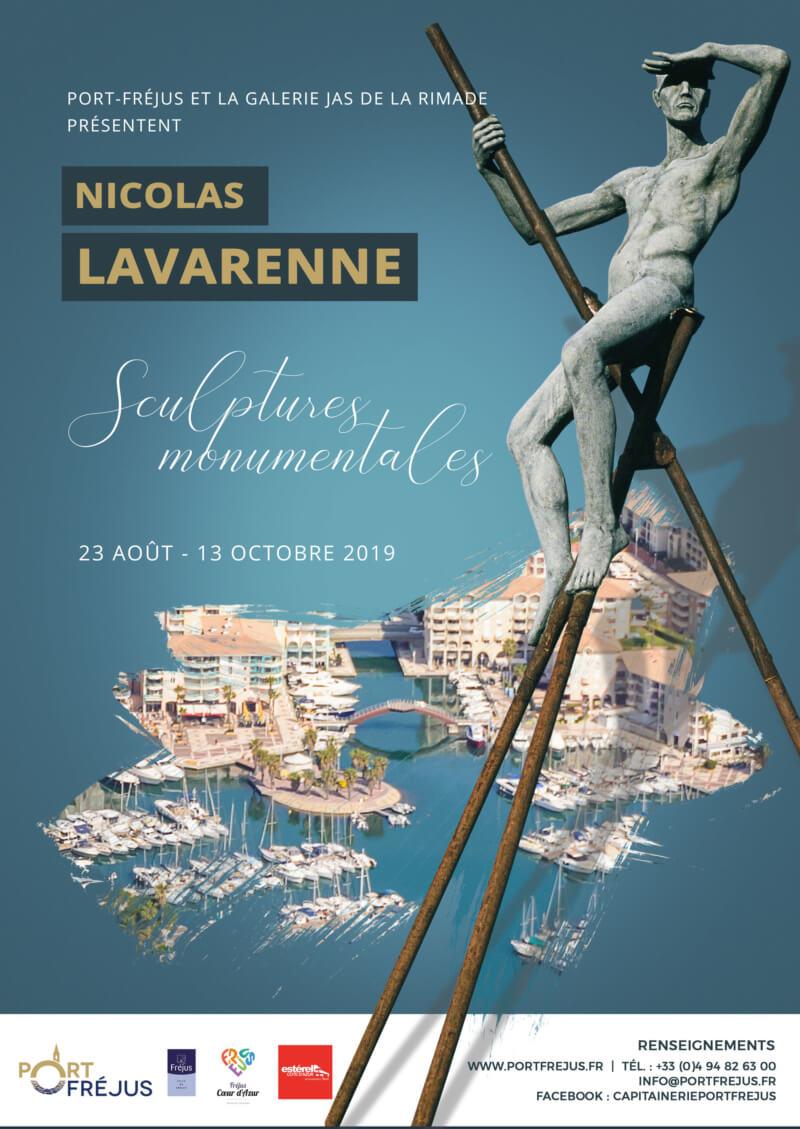 """Exposition des sculptures de """"Nicolas Lavarenne"""""""