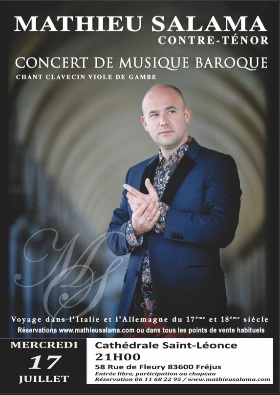 """Concert """"Arias Baroque, en hommage aux castrats"""""""