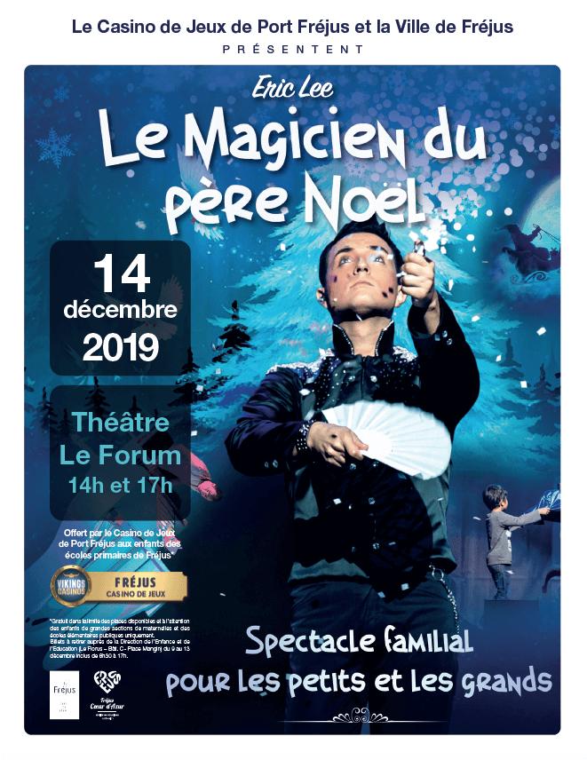 """Spectacle """"Le magicien du père Noël"""""""