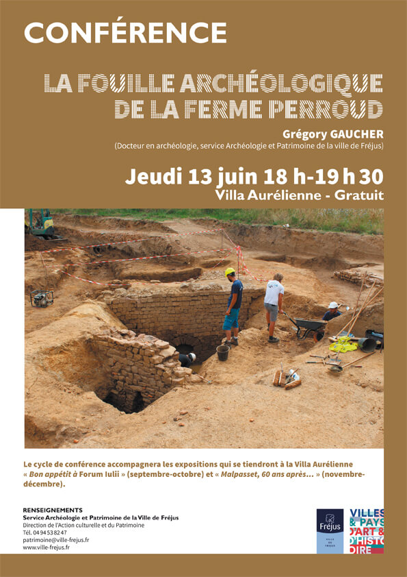 La fouille archéologique de la Ferme Perroud