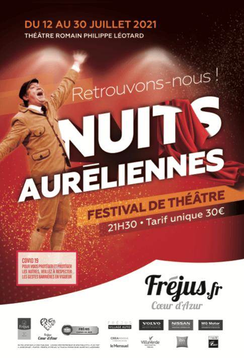 """Festival de Théâtre """"Les Nuits Auréliennes"""""""